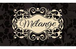 Melange-sign