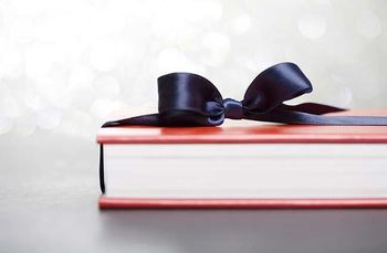 Gift-wrapped-book