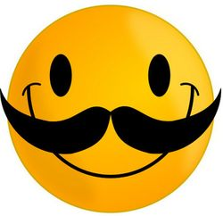 Mustache-Smiley