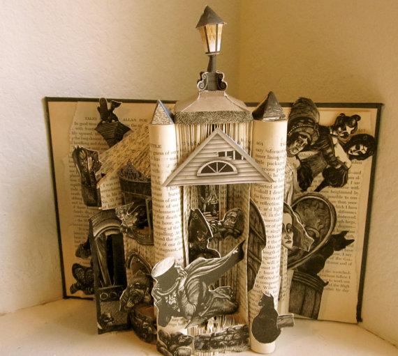 Book-Sculpture-Poe