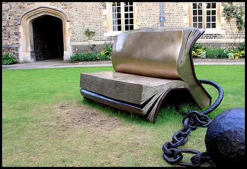Book-Sculpture-Sittting-On-History