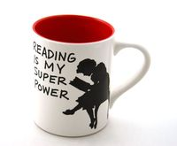 Reading-is-my-super-power-mug
