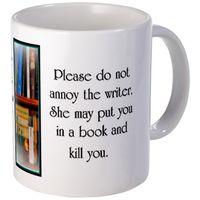 Annoy-the-Writer-Mug
