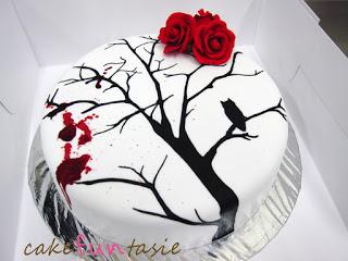 Winter mystery cake 1