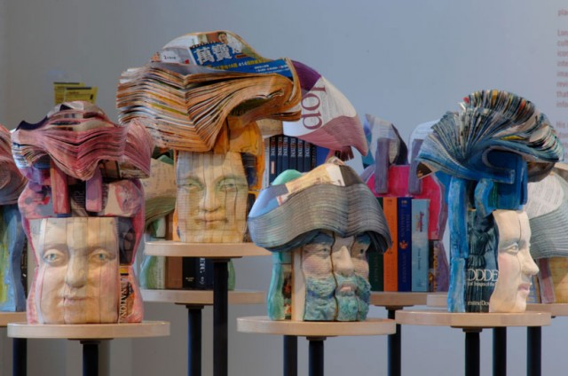 Long-bin-chen-book-sculptures
