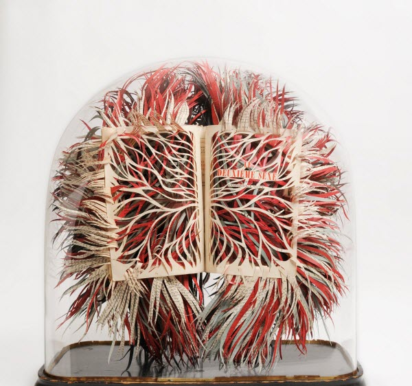 Book Sculpture by Georgia Russell