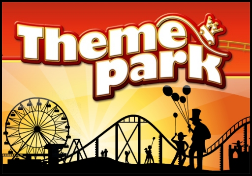 Theme-Park-Cartoon