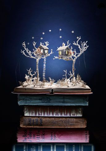 Book Sculpture by Su Blackwell