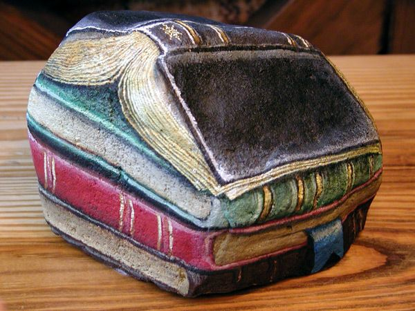 Book Rock Art