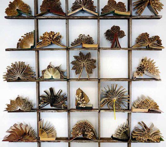 Pam Langdon Book Sculpture