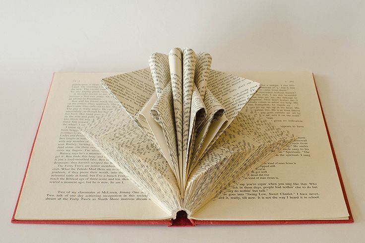 Book Sculpture by Johwey Redington