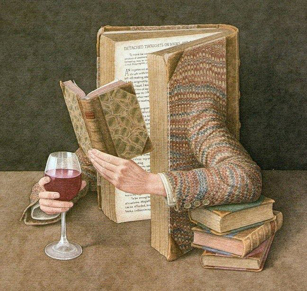 Surrealistic-Book-Art-by-Artist-Jonathan-Wolstenholme-1
