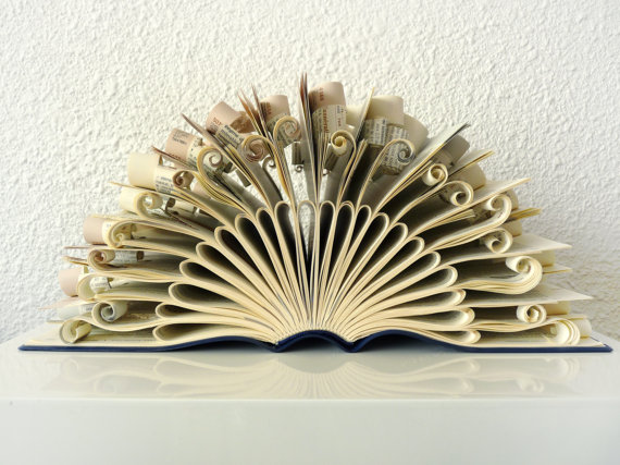 Book Sculpture by Abadova