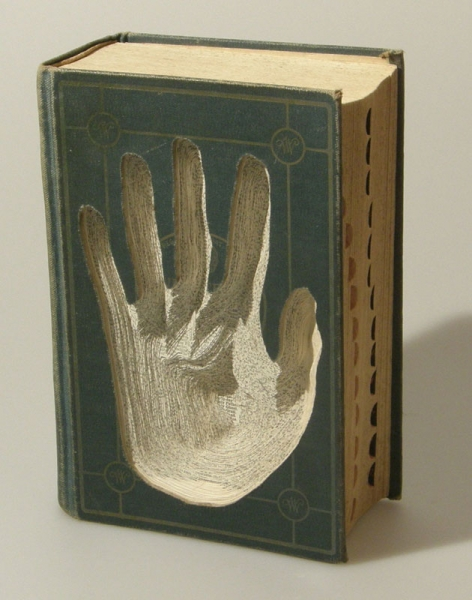 Nicholas Jones Book Sculpture