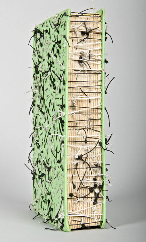 Sew-Not-in-Anger Book Art by www.lisakokin