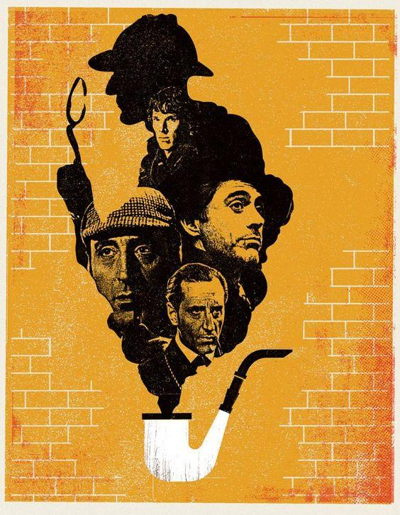 Sherlock Art via studio.telegramme.co.uk