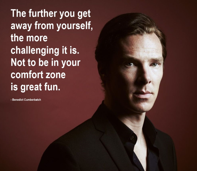 Benedict Cumberbatch Quotation