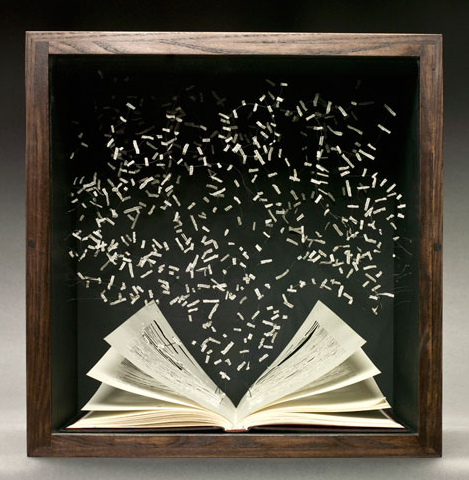 Book Art by Su Blackwell