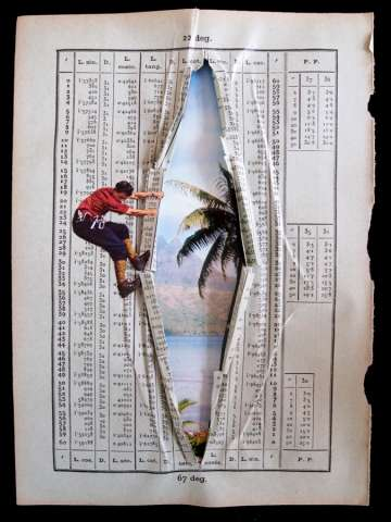 Erwan Soyer book collage