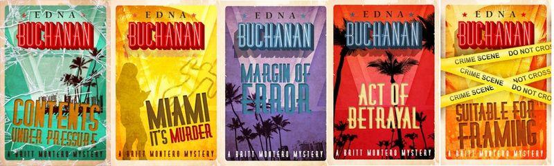 Edna Buchanan Book Bundle