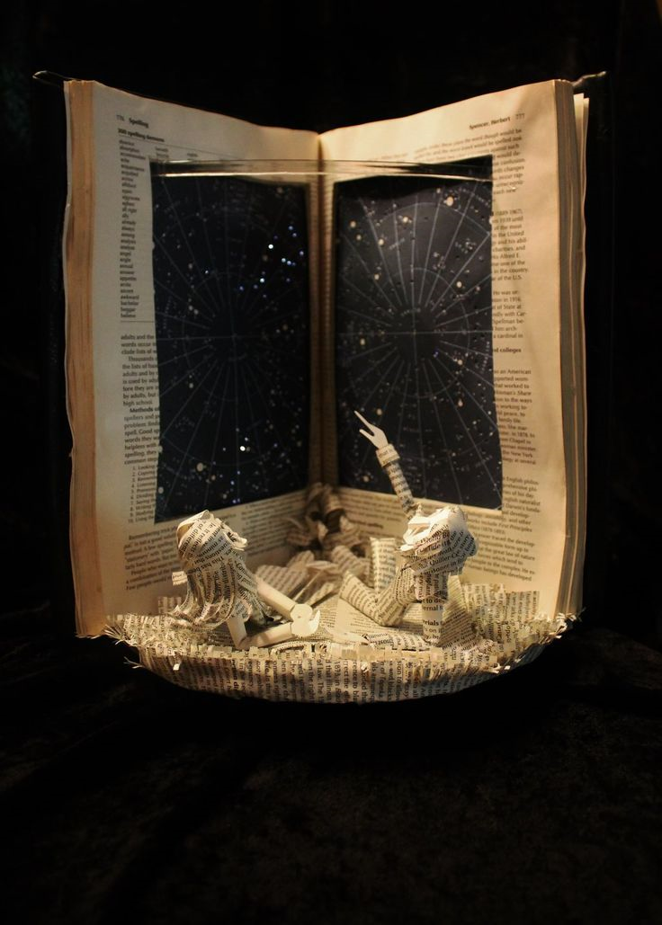 Starry-Sky-Book-Sculpture