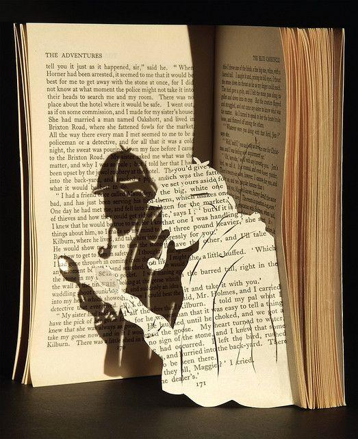 Rochelle Donald Book Sculpture