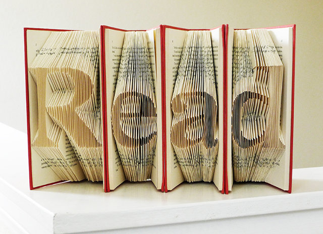 Luciana Frigerio Book Sculpture READ