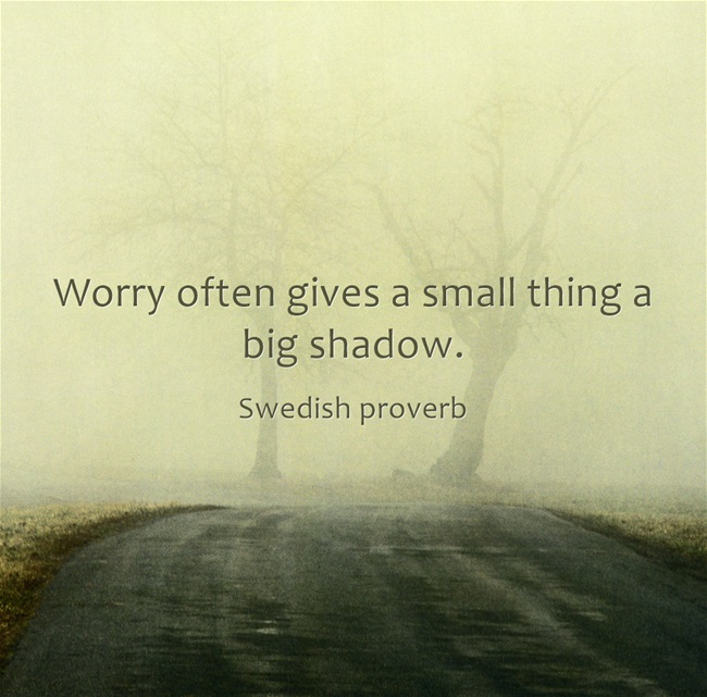 Worry-often-gives-a