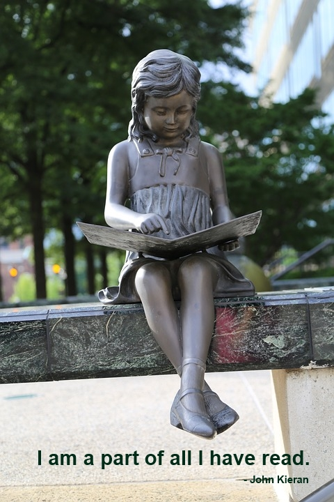 Girl Reading Quotation