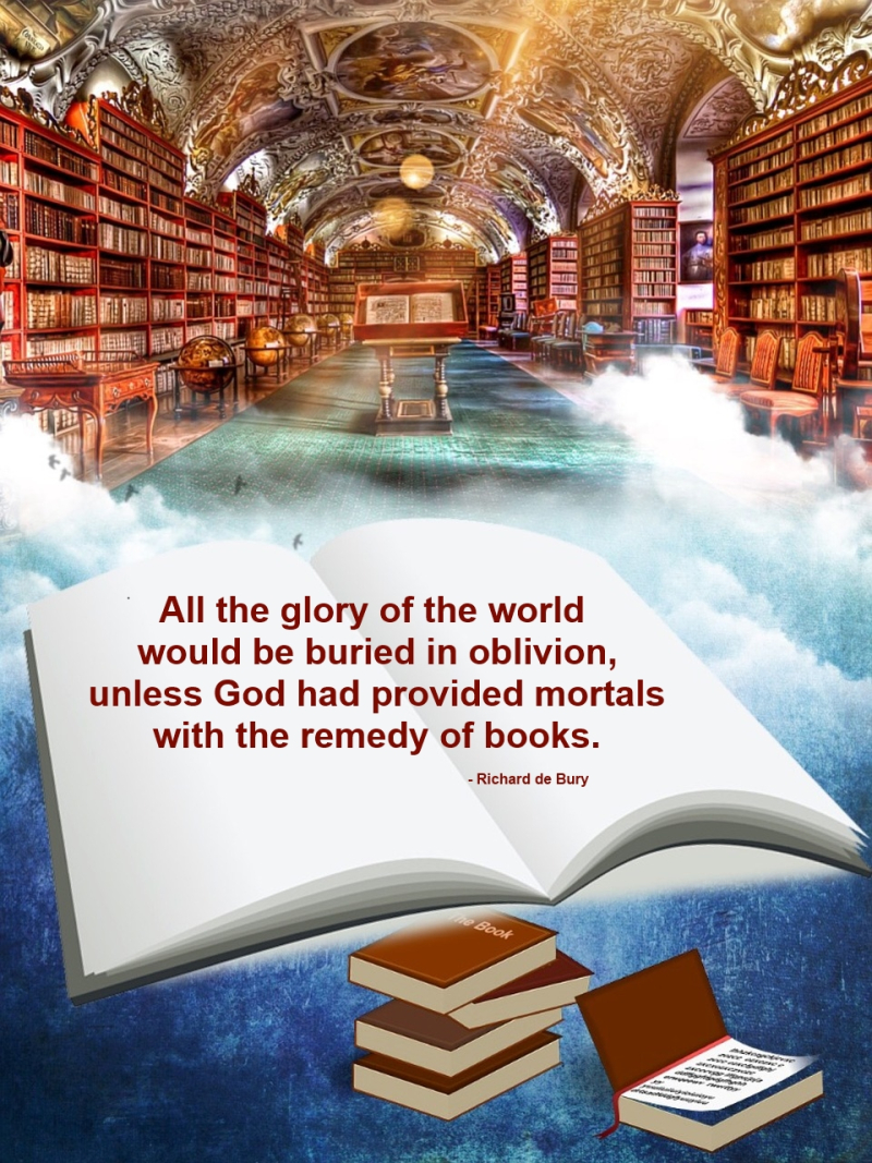 Books glory of the world