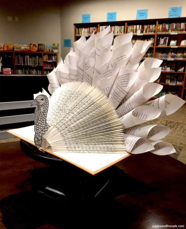 Thanksgiving Book Turkey