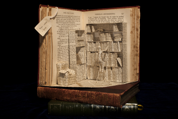 Emma Taylor, Book Sculpture 06