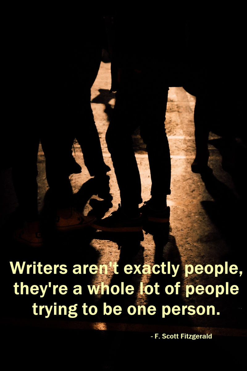 Writers arent exactly people