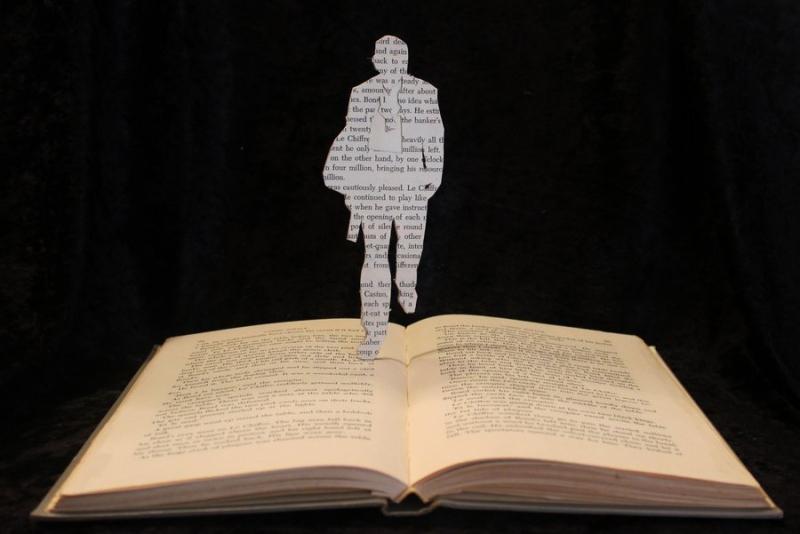 Book Art by Tyson Adams