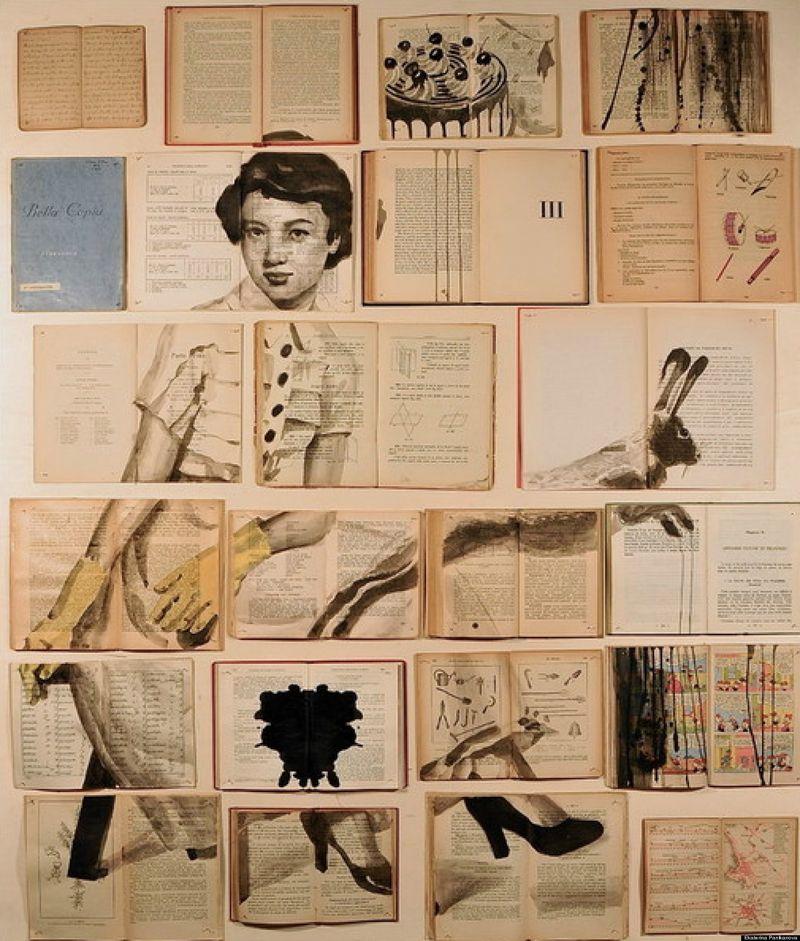 Ekaterina Panikanova's Book Art