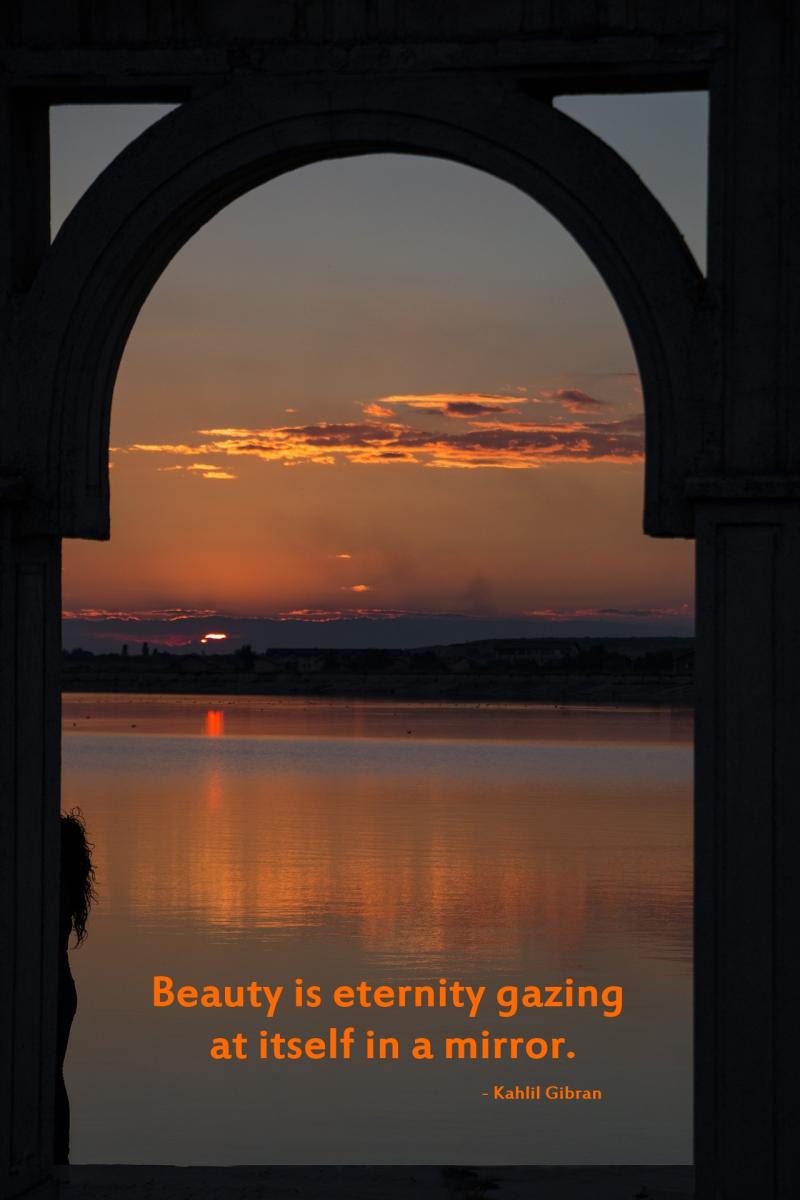 Beauty is eternity