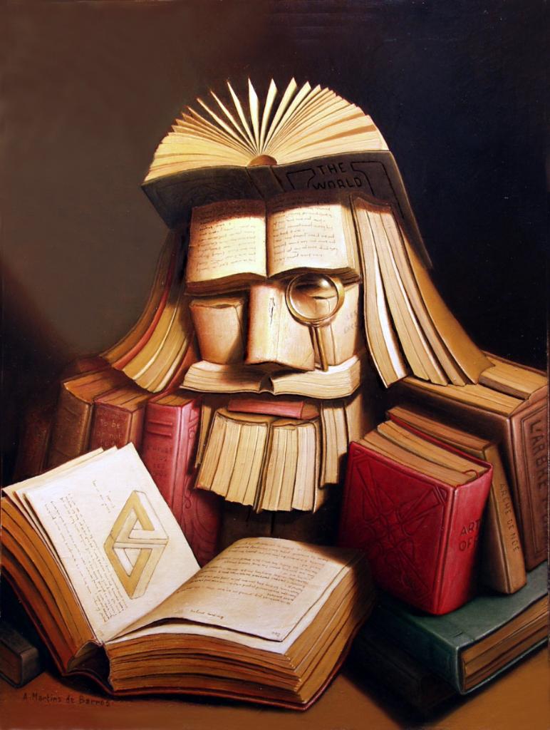 The Scholar by André Martins De Barros