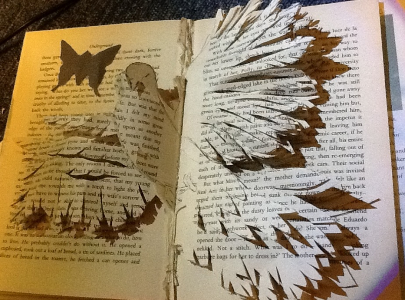 Book Art by Square Bird