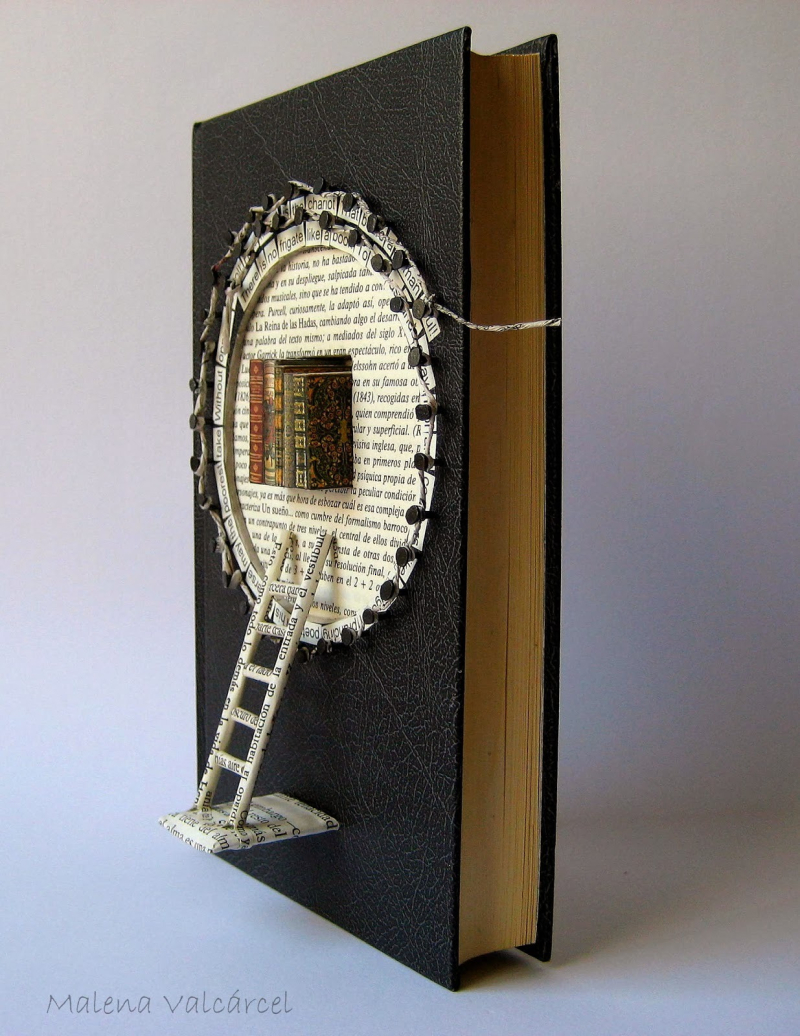Book Sculpture Malena Valcarce