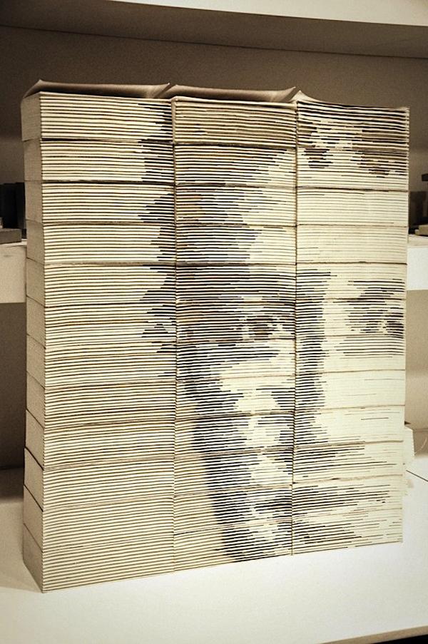 Book Sculpture by Hong Yi