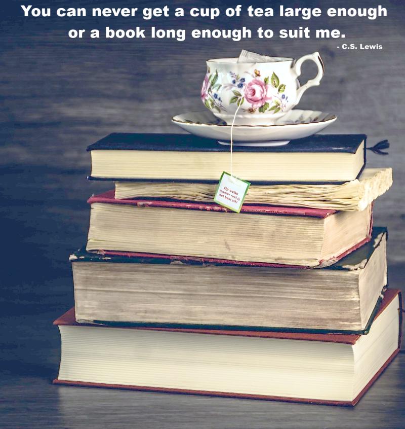 Tea and Books Big Enough