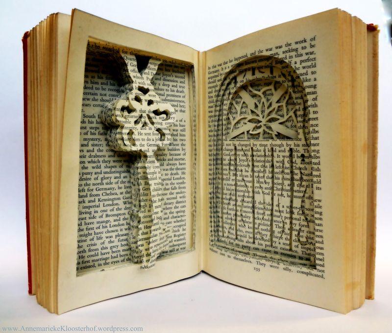 Book art by Annemarieke Kloosterhof