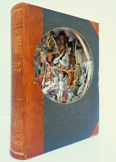 Renaissance Book Sculpture by Saatchi Art