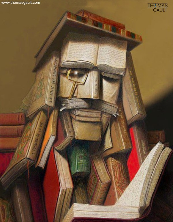 Book-Sculptures by Thomas Gault