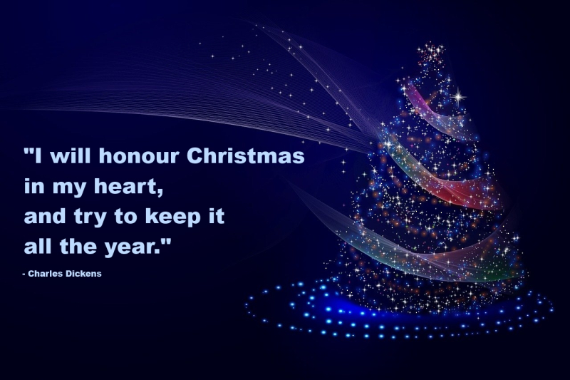 Dickens Christmas Quote