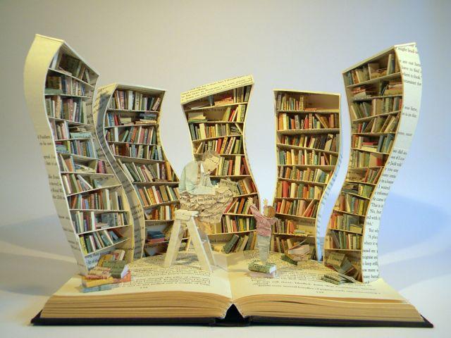 Su Blackwell Book Art
