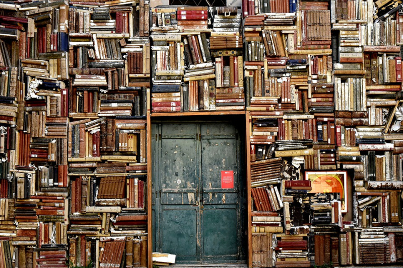 Old Book Wall motilalbooks