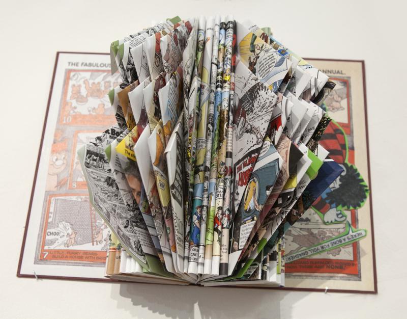 Altered Book Art GALWAY ART ACADEMY