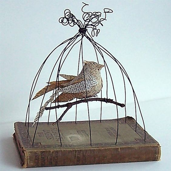 Book Art by Gathered Together on Etsy