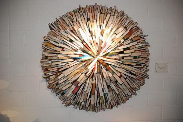 Book Sculpture by Sébastien Magro